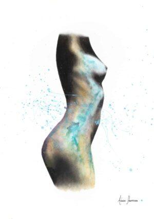 Ashvin Harrison Art- Swirling Relapse