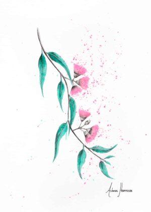 Ashvin Harrison Art- Eucalyptus Lush