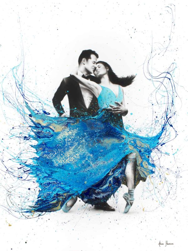 Ashvin Harrison Art- The First Dance