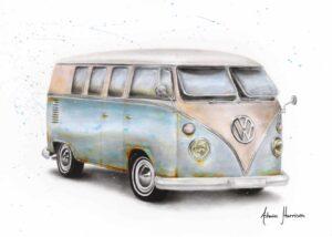 Ashvin Harrison Art- A Journey In Time
