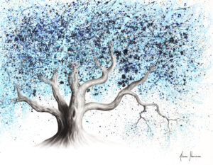 Ashvin Harrison Art- Blue Sea Tree