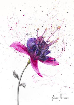 Ashvin Harrison Art- Amethyst Bloom