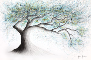 Ashvin Harrison Art- Lucent Lake Tree