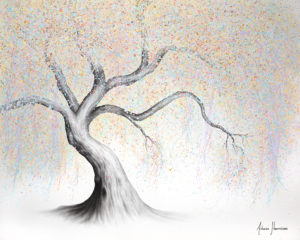 Ashvin Harrison Art- Pastel Palace Tree OCT