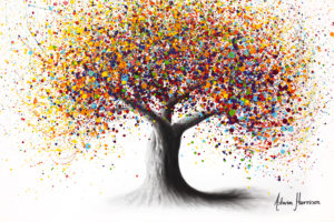 Ashvin Harrison Art - Rainbow Soul Tree