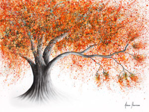 Ashvin Harrison Art - Rusty Sunshine Tree
