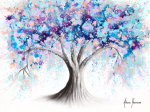 Ashvin Harrison Art- Motivational Soul Tree