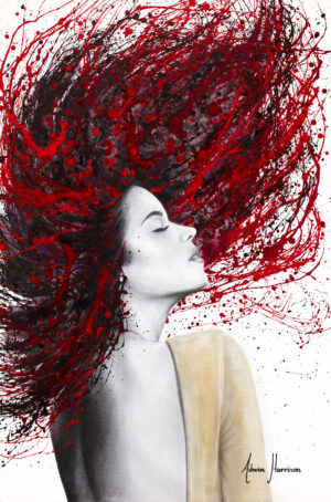 Ashvin Harrison Art- Scarlet Shine