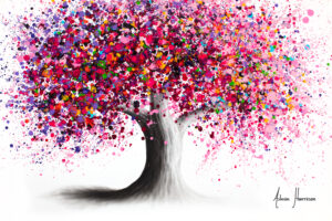Ashvin Harrison Art- Wild Blossom Tree